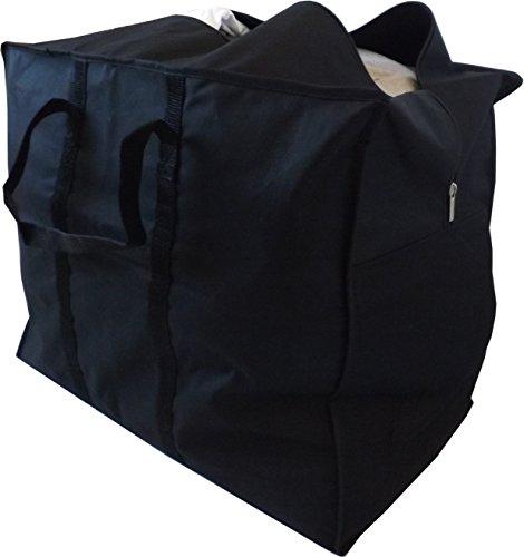 Neusu Starke Tasche Zur Aufbewahrung Von Kleidung, 70 Liter, 55x45x30cm, Schwarz … (Roller Rack Kleidung)