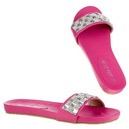 Ital-Design, Sandali donna Rosa (rosa)