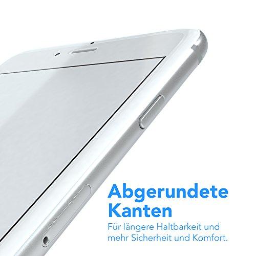 """iPhone 7 / iPhone 8 Glasfolie - EAZY CASE """"Glass Screen Protector"""" Displayschutz - Schutzglas als Displayschutzfolie 9H [3D Touch Kompatibel] aus Hartglas 0,3mm (1er Pack) 1x Glas"""