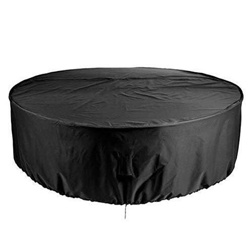 Runde Gartensofa-Abdeckung, Möbel, Couchstuhl, Tisch-Schutz, wasserdicht und staubdicht