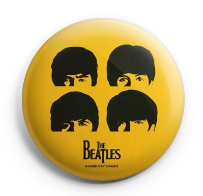 The Beatles Fan Pinback Buttons Buttons Größe 3,8 cm -
