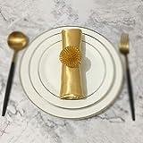 MMD Tovagliolo in Tinta Unita Hotel Cafe Restaurant Tovaglietta Assorbimento dell'Acqua 45 * 45cm (Colore : Giallo Dorato)