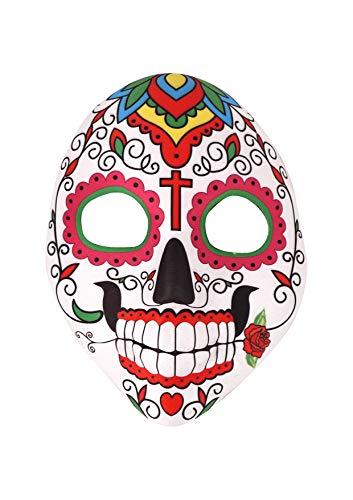 Tag der Toten mexikanischen Maske - Halloween Steampunk Kostümmaske (Cross)