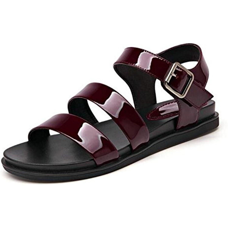KUKI  s femme à fond des plat avec des fond sandales pour femmes - B079FPCVYX - 8602d0