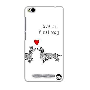 Designer Xiaomi Redmi 3 Case Cover Nutcase -Love At First Wag