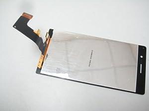 Schwarz Full LCD Display + Touch Screen Digitizer für Huawei Ascend P7