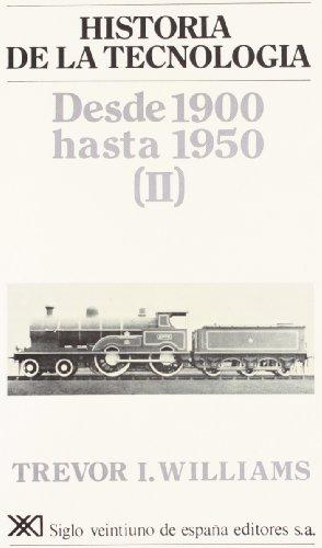Historia de la tecnología. V: Desde 1900 hasta 1950 (II)