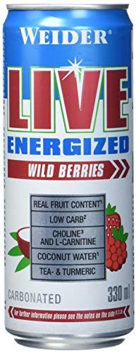 Weider LIVE RTD, Wild Berries, (1x330ml)