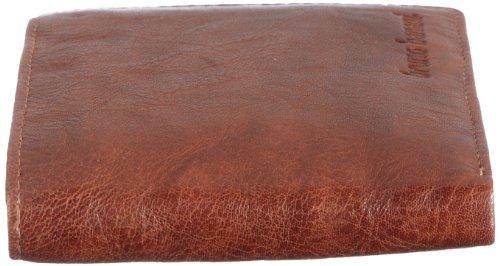 Bruno Banani Natural_2 W 320.846, Unisex - Erwachsene Portemonnaies, 12x9x1 cm (B x H x T) Beige (Cognac)