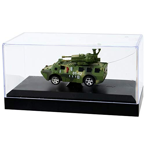 Mini RC Truck LKW Lastwagen Fahrzeug Modelle 1:64 Fernsteuerung mit Licht Akku , Modell:Truck Militär