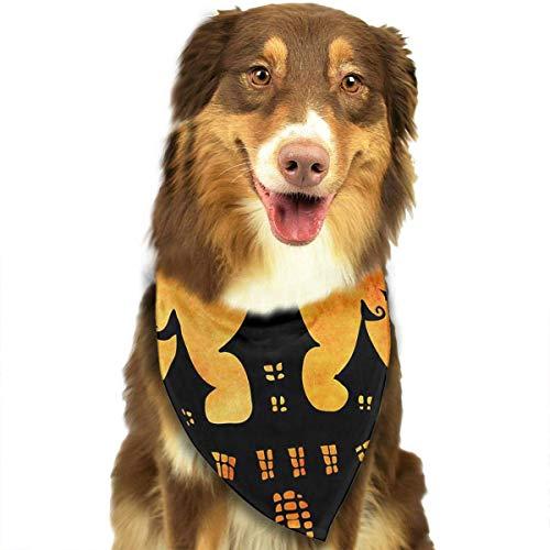 s Happy Halloween einstellbar Hundehalsband Katze Schal Welpen Bandans Pet Zubehör ()
