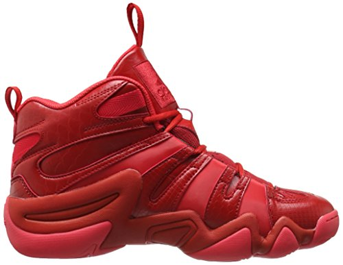 Adidas Performance Crazy 8 Basketball-Schuh, klar Onix, 6,5 M Us Scarlet/Ray Red University Red