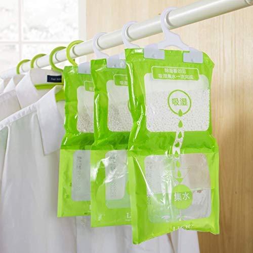 VPlus 3 Stücke Luftentfeuchter Taschen Schrank Kleiderschrank Trockenmittel Pakete Feuchtigkeit Absorbent Anti-form Bag Closet Luftentfeuchter Trockenmittel Tasche Haushaltsreiniger Werkzeuge -