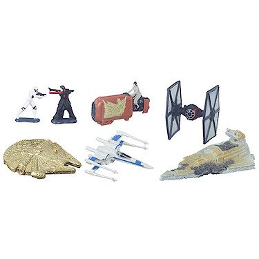 Hasbro – B6600 – Micro Machines – Star Wars – Bataille de Jakku (Gold Series)