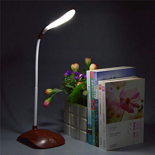 zhouzhou666 Lesen Kleine Schreibtischlampe Student Ledusb Student Studie Schreibtisch Auge Lampe Schlafzimmer Kinder Holz Tischlampe Quadrat Dunkel -