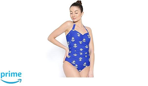 4edda98b579 Fasnoya Women Nylon Spandex Swimwear: Amazon.in: Clothing & Accessories