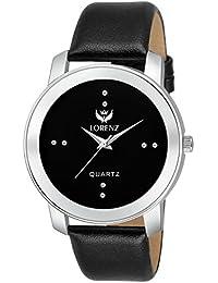 Lorenz Luxury Black Analog Watch For Men / Watch For Boys