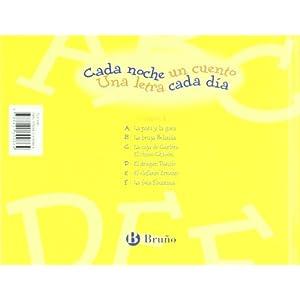 A-F: 1 (Castellano - A Partir De 3 Años - Libros Didácticos - Cada Noche Un Cuento)
