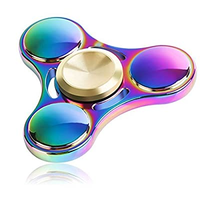 Fidget Spinner, Innoo Tech Colorful Hand Spinner, Rainbow Spinner fidget Toys, Zinc Alloy, High Speed Stainless Steel Bearing, ADD, ADHD Focus Anxiety Relief Toys