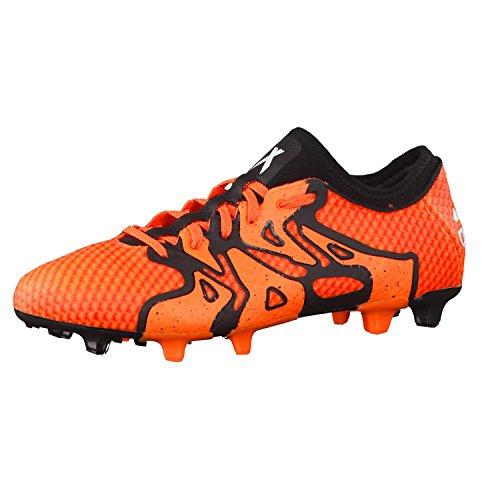 adidas X 15+ Primeknit FG/AG Herren Fußballschuhe Soccer Cleats (UK 13 US 13.5 EU 48 2/3, orange Black orange S77878