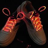 Le temps de traitement 2 jours-Flash croître bâton lumière rouge LED étanche lacet (1 paire)