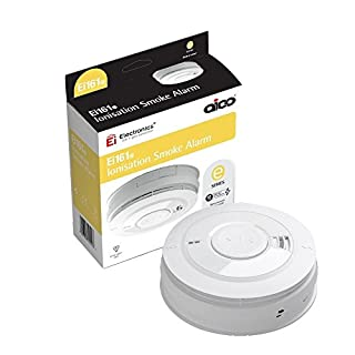 Aico 161e Series Ionisation smoke Alarm with Rechargeable Lithium Battery