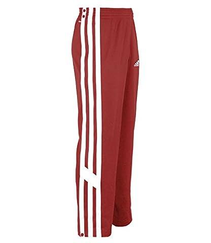 adidas Snap Pant Herren Trainingshose Jogginghose Basketball Hose (rot, XLT (114 Langgröße))