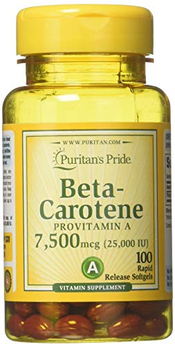 Beta Carotin 25.000 I.E. 100 Softgels