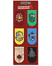 MC SID RAZZ Harry Potter Pack of 6 New Magnetic Bookmarks | Gift for Readers and Book Lovers| Girlfriends/Boyfriends Gift |Best Christmas Gift- Officially Licensed by Warner Bros,USA
