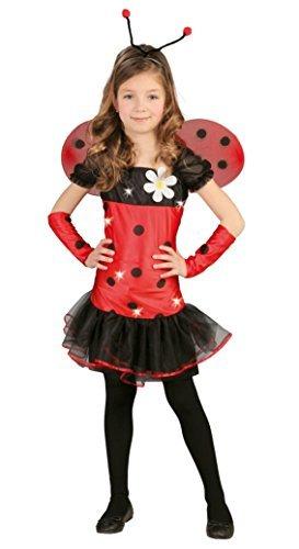 Scarletta Kostüm - Fancy Me Mädchen Scarletta Blume Fee Prinzessin & wings halloween büchertag Kostüm Kleid Outfit 2-11 Jahre - Rot, Rot, 10-12 Years