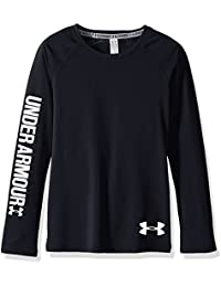 Under Armour Fille Armour Heat Gear manches longues pour homme, Fille, Armour Heat Gear