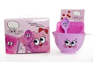 Pink Childrens Baking Set