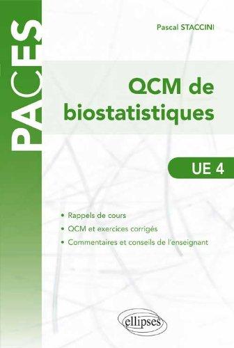 QCM de Biostatistiques UE4