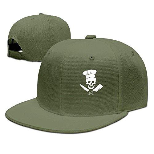 Preisvergleich Produktbild Skull-Chef Cooking Skull Hat Grill Master Unisex Fashion Snapback Hats