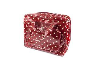 Bolsa para máquina de coser de lunares de Hobby Gift