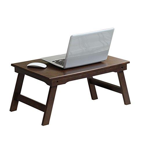 DS Ⓡ Amerikanischer Pinecone-Harz-Notizbuch-Schreibtisch, fauler faltender Kleiner Schreibtisch, Kreatives Notizbuch-Festholz-Lagerregal 65cm * 35cm * 26cm #