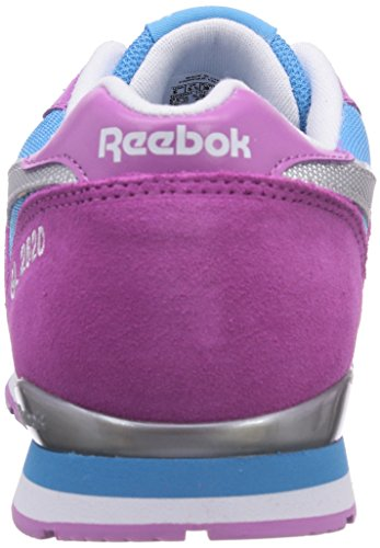 Reebok - GL 2620, Senakers a collo basso infantile Multicolore (Blue Beam/Steel/Ultraberry/White)