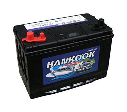 hankook-90ah-batterie-decharge-lente-loisir-caravane-bateau-cloture-electrique-4-ans-de-garantie