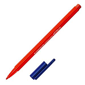Staedtler - Triplus Color 323 - Feutre Coloriage Pointe Moyenne 1 mm Rouge