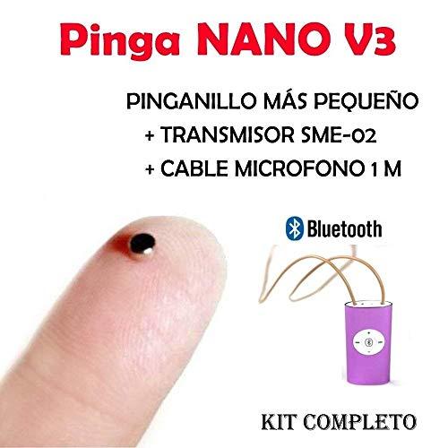 El Pinga Nano es el modelo de pinga más pequeño y eficaz, ademas en esta versión V3 se le incluye el último modelo de collar inductor SME-02 recargable, más discreto, funcionamiento por Bluetooth y un micrófono con una extensión de 1 metro, perfecto ...