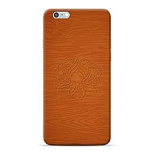 INKIF Floral Design Designer Case Printed Mobile Back Cover for Apple iPhone 6s Plus(Brown)