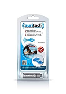 "AURITECH ""WATER SPORTS"" Earplugs - Intelligent Hearing Protection for Swimming and other Water Sports"
