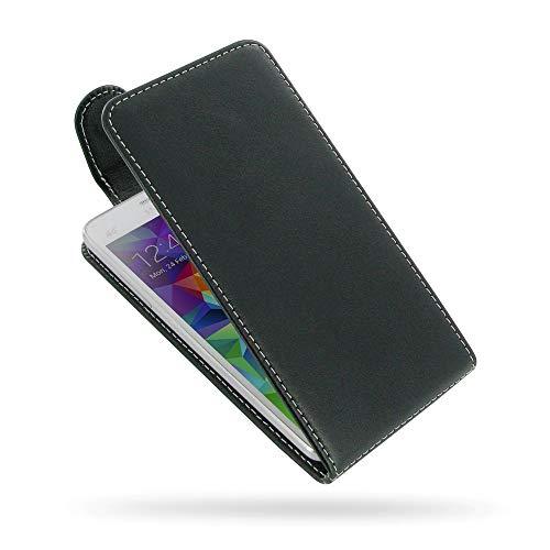 PDair Handarbeit Leder Hülle - Deluxe Leather Flip Top Case for Samsung Galaxy Grand Prime SM-G530H
