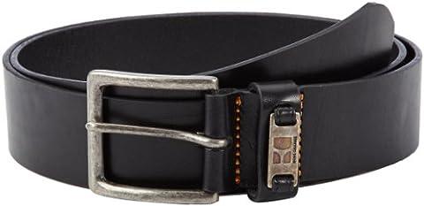 BOSS Orange Men's JACKSON-N Belt, Black, 36 (Manufacturer size:90)