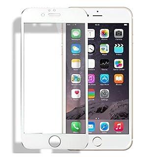 Schutzfolie Für iPhone 6 6s, Ancdream High Clear [Full Coverage] 0.26mm Glasfolie Hartglas 9H 100% Display-Abdeckung Prämie Gehärtetem Glas Folie 3D Touch Displayschutzfolie für Apple iPhone 6/6S, Weiß