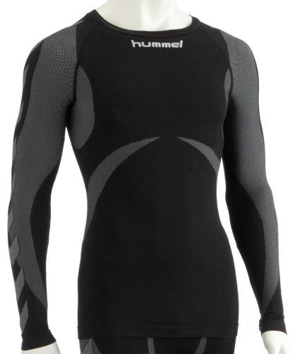 Hummel - Camiseta deportiva ajustada (manga larga, sin costuras) Talla:Medium/Large