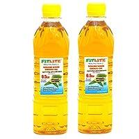 FITLITE Pack of 2 Nature Sesame Wood Chekku Oil 0.5 LTR