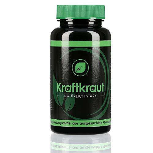 KRAFTKRAUT | Testosteron | Natürlich für mehr Ruhe und Kraft | Libido | 90 Kapseln hochdosiert | Made in Germany