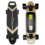 Langwo E-Skateboard Elektro Longboard motorisiertes Longboard mit Fernbedienung für Jugendliche und Erwachsene