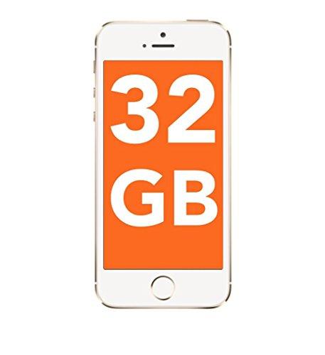 Apple iPhone 5s 32GB - Gold (Ohne Simlock) Smartphone ohne Vertrag gebraucht *A